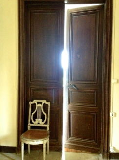 Porte chambre
