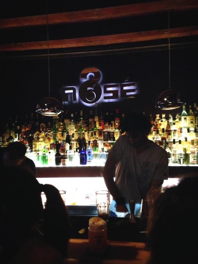 Nose cocktail bar