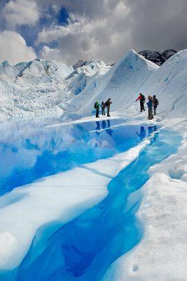 Glacier Perito Moreno, Parc National Los Glaciares, Patagonie, Argentine