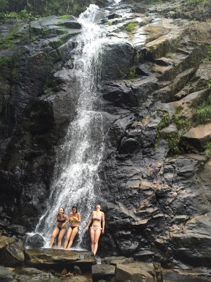 Nacpan cascade